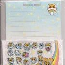 Lemon Co. Hamukko Hamsters World Rainbow Mini Letter Set