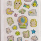 Crux Bunnies and Chicks Sticker Sheet