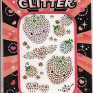 Mood Glitter Strawberry Cell Phone Stickers
