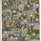 Q-Lia Rock'n'Roll Punk Boy Sticker Sheet