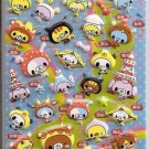 Crux Japanese Local Animals and Foods Puffy Sticker Sheet