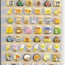 Crux Combini Mart Puffy Sticker Sheet