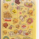 Crux Natto Chan Glittery Sticker Sheet
