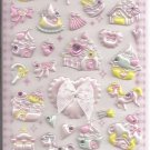 Q-Lia  Hime Deco with Rhinestones Sticker Sheet