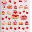 Mind Wave Strawberry Desserts Sticker Sheet