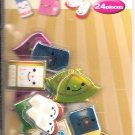 Crux School Items 3D Puffy Sticker Sack