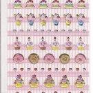 Lemon Co. Crepes and Cakes Mini Sticker Sheet