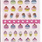 Lemon Co. Cupcakes and Macaroons Mini Sticker Sheet