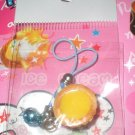 Egg Tart Blue Bell Cell Phone Strap