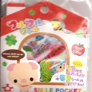 Q-Lia Smile Pocket Sticker Sack