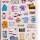 Kamio Travel Items Sticker Sheet