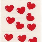 Mrs. Grossman's Hearts Sticker Sheet