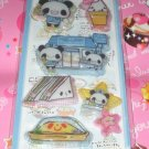 Crux Panda Mart 3D Shakers Sticker Sheet
