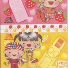 Senet Co. Kawaii Girls Moninaga Soda Pop Long Memo Pad