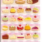 Crux Patissiere Sweets Shop Sticker Sheet