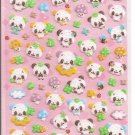 Q-Lia Colorful Pandas Sticker Sheet