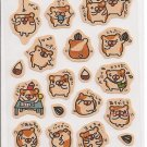 Kamio Hamsters School Sticker Sheet