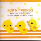 Kamio Pop'N Friends Ducks Mini Memo Pad