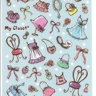 Mind Wave My Closet Sparkly Sticker Sheet