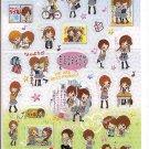 Kamio Tomo Best Friends Sticker Sheet