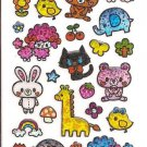 Q-Lia Animals Sparkly Sticker Sheet