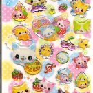 Crux Nyan Fruits Sparkly Sticker Sheet