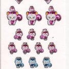 Sanrio Pink Corisu Shiny Sticker Sheet