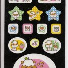 Sanrio Corocorokuririn Vinyl-like Sticker Sheet