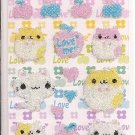 Lemon Co. Hamsters Love Me Beaded Mini Sticker Sheet