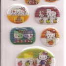 Sanrio Hello Kitty Holographic Sticker Sheet