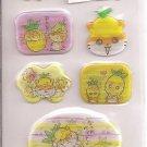 Sanrio Corocorokuririn Tropical Holographic Sticker Sheet