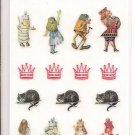 Sun More The Macmillan Alice in Wonderland Alice, Twiddle Dee and Twiddle Dum Sticker Sheet