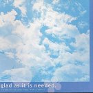 Crux Blue Sky Motivational Memo Pad