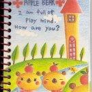Kamio Apple Bear Mini Notebook