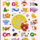 Q-Lia Alpha Pets Sticker Sheet