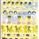 Crux Cute Animals Zoo Sticker Sheet