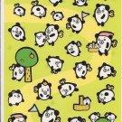 Japanese Panda Bear Wind-Up Toys Sticker Sheet