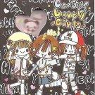 Crux Go Go Lovely Girls Mini Memo Pad