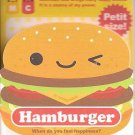 Q-Lia Copy Smile Pocket Hamburger Mini Memo Pad