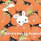 Kamio Strawberry Dream Rabbit Mini Memo Pad
