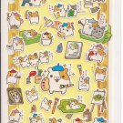 San-X Painting Artistic Hamsters Sticker Sheet