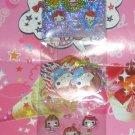 Crux Hi! School Girl Long 5-Part Sticker Strip