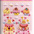 Lemon Co. Cupcakes, Cakes, and Pancakes Mini Sticker Sheet with Rhinestones