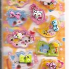 Crux Magical Animals 3D Shakers Sticker Sheet