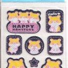 Lemon Co. Happy Hamsters Jean Mini Sticker Sheet