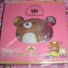 San-X Rilakkuma Bear 5th Anniversary Plush in Box