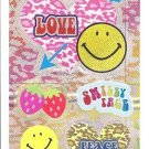Crux Smiley Face Mini Sticker Sheet