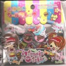 Kamio Miracle Girls Fast Food Restaurant 3D Sticker Sack