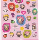Kamio Devil Chan Sparkly Sticker Sheet