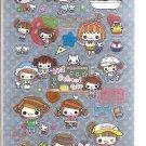 Crux Hi! School Girl Double Sticker Sheet